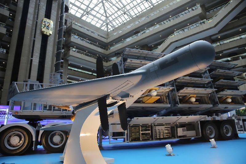 Chien Hsiang UAV. (CNA photo)