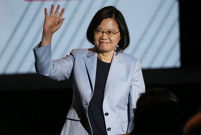 File photo: President Tsai Ing-wen
