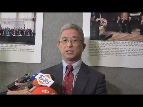 Deputy Foreign Minister Hsu Szu-chien