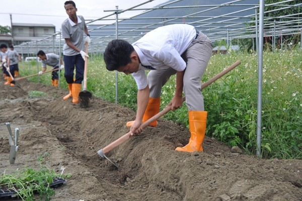 New agriculture program for Indonesians at Tzu Chi University. (CNA photo)