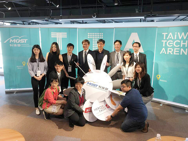 MOST receives Taiwanese delegation from 2019 MedTech Conference. (CNA photo)