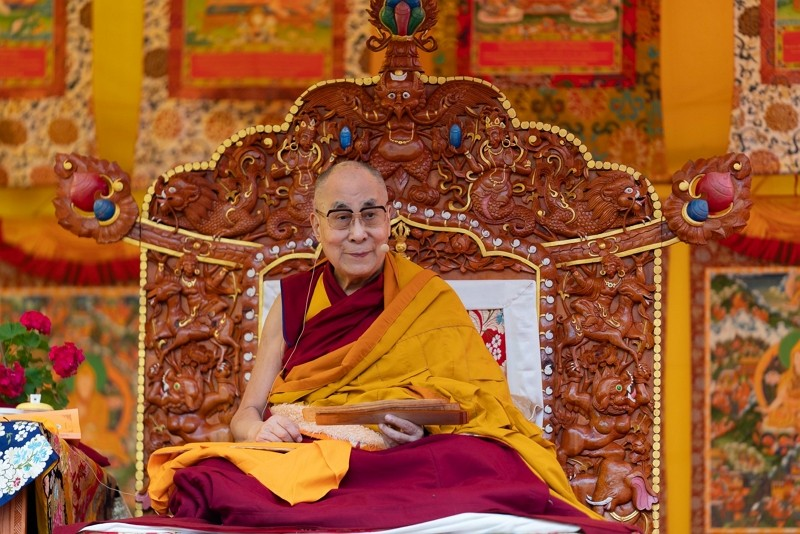 Dalai Lama (Dalai Lama FB photo)
