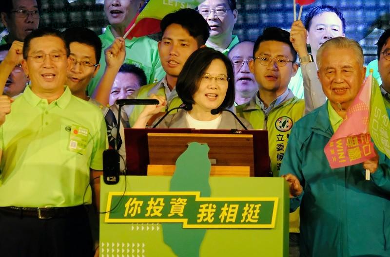 Taiwan President Tsai Ing-wen (CNA photo)