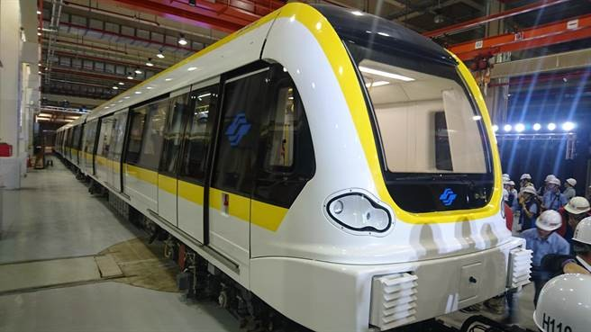 MRT Yellow Line train (Wikimedia Commons photo)