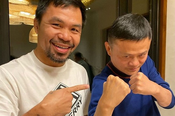 Jack Ma challenges Floyd Mayweather to boxing match. (Instagram photo)