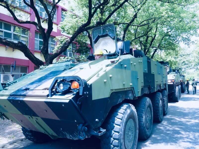 圖為雲豹甲車 (國防部官網)