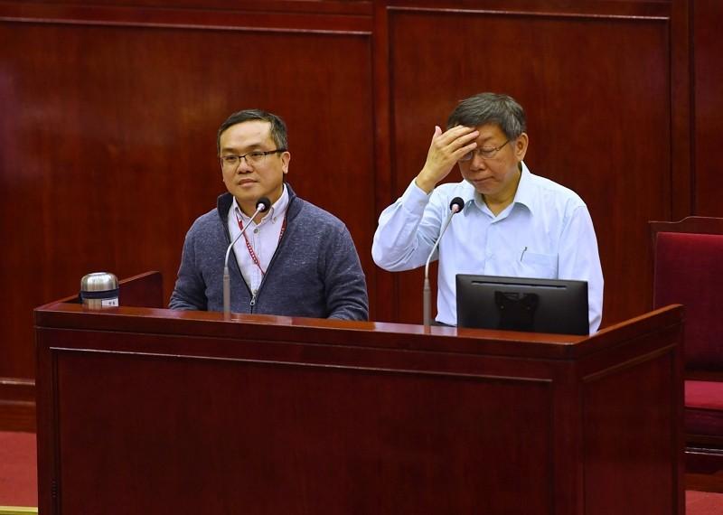 Liu Chia-jen and Ko Wen-je