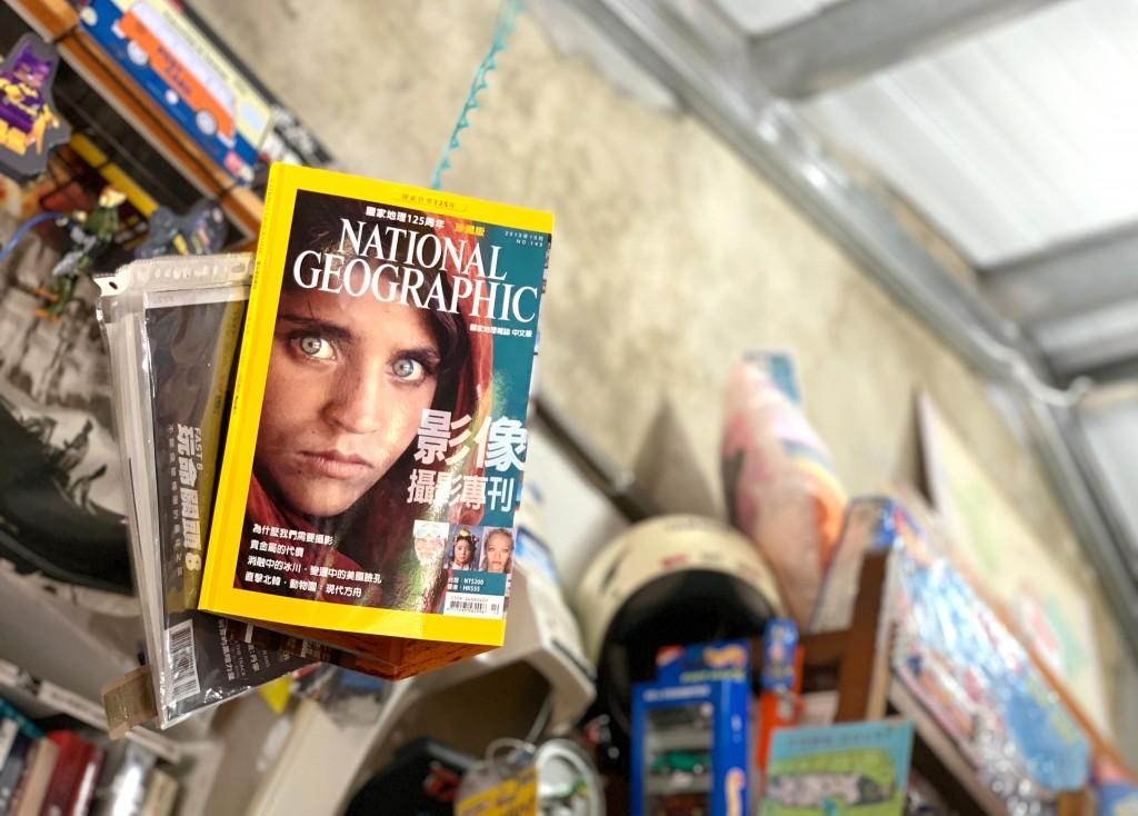 書店內書籍布置、陳設都出自李明燦之手。