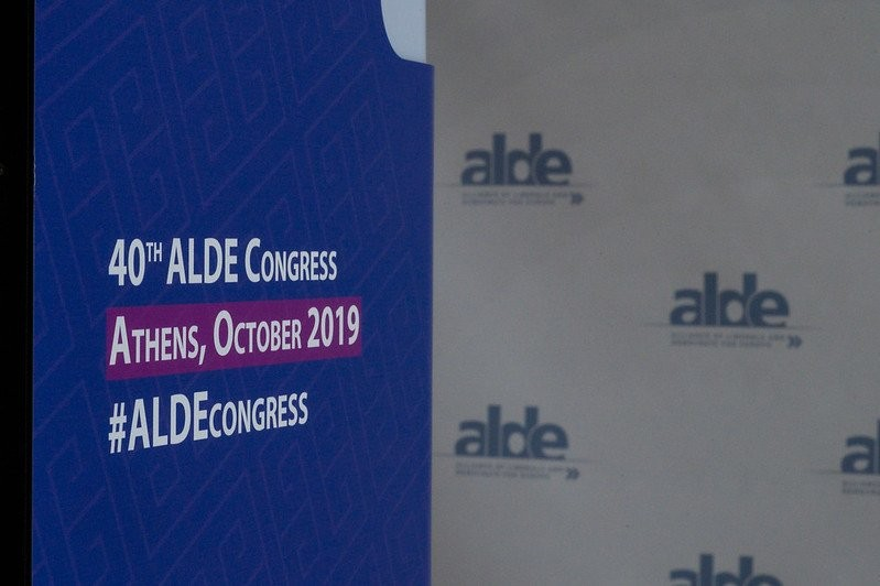 The ALDE Party's 2019 Congress. (Twitter photo)