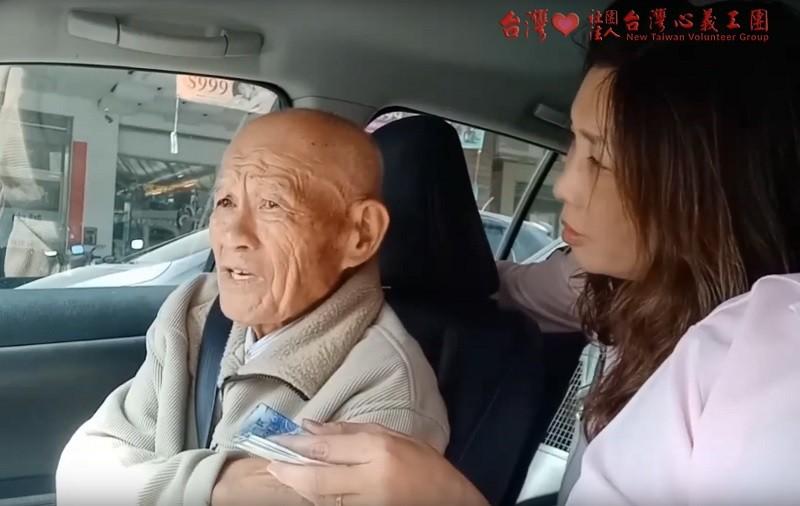 The unnamed 90-year-old good Samaritan (NTVG photo)