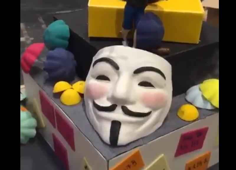 反送中蛋糕遭英國甜點大賽撤銷資格(IG擷圖)