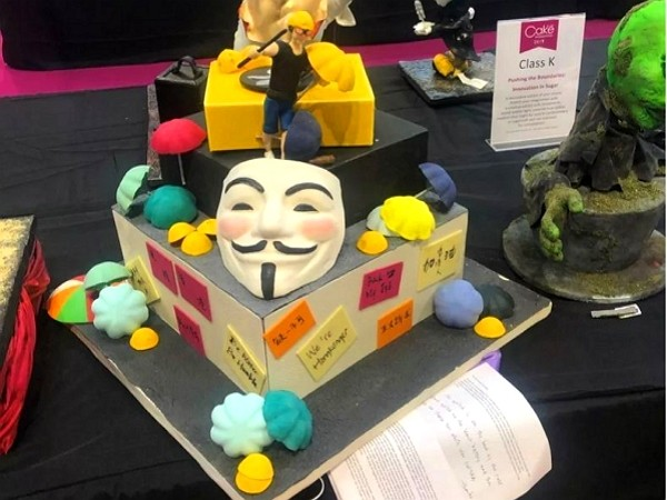 HK 'protest' cake disqualified from United Kingdom competition