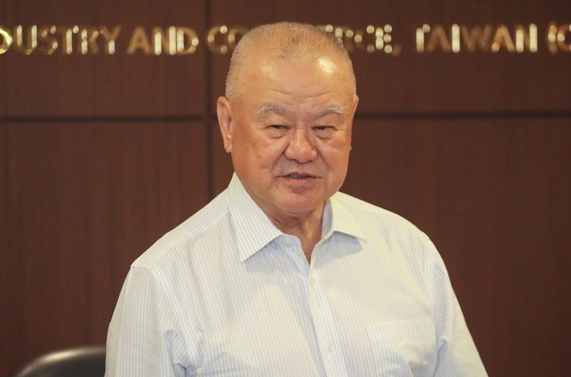 Taiwan Glass Chairman Lin Por-fong. (CNA photo)