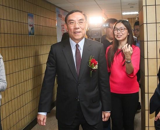 Taiwan Minister of Justice Tsai Ching-hsiang (蔡清祥). (CNA photo)
