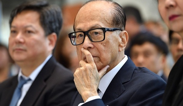 Hong Kong business magnate Li Ka-shing. (Facebook photo)