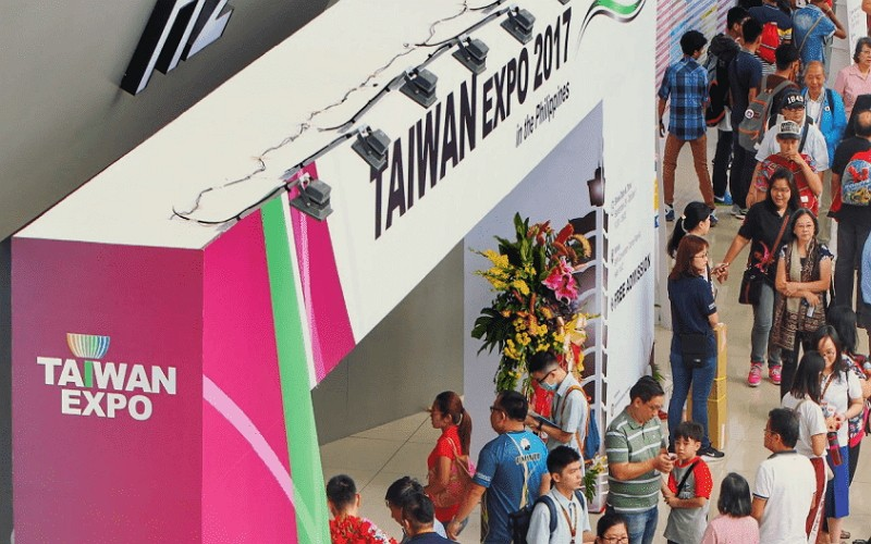 Taipei Expo opens in the Philippines (TAITRA photo)