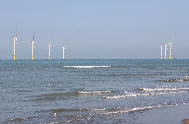 Taiwan's first offshore wind farm, Formosa 1.