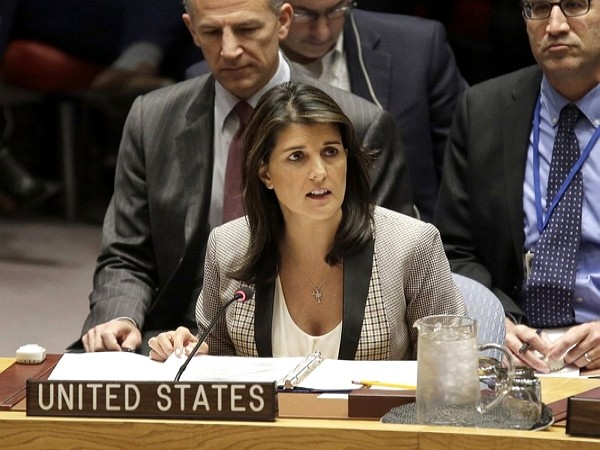 Former UN Ambassador Nikki Haley