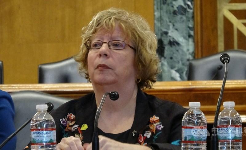 美國USCC主席白嘉玲 (Carolyn Bartholomew)(中央社)