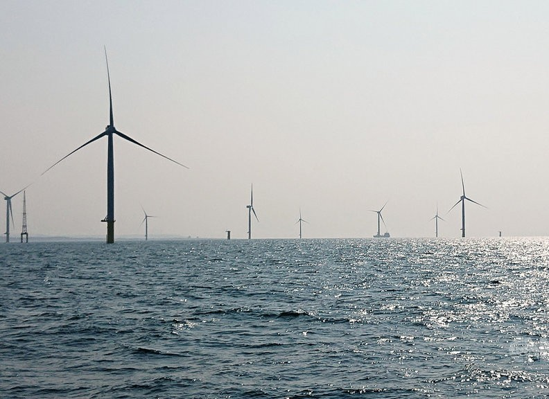 Offshore wind farm in Taiwan