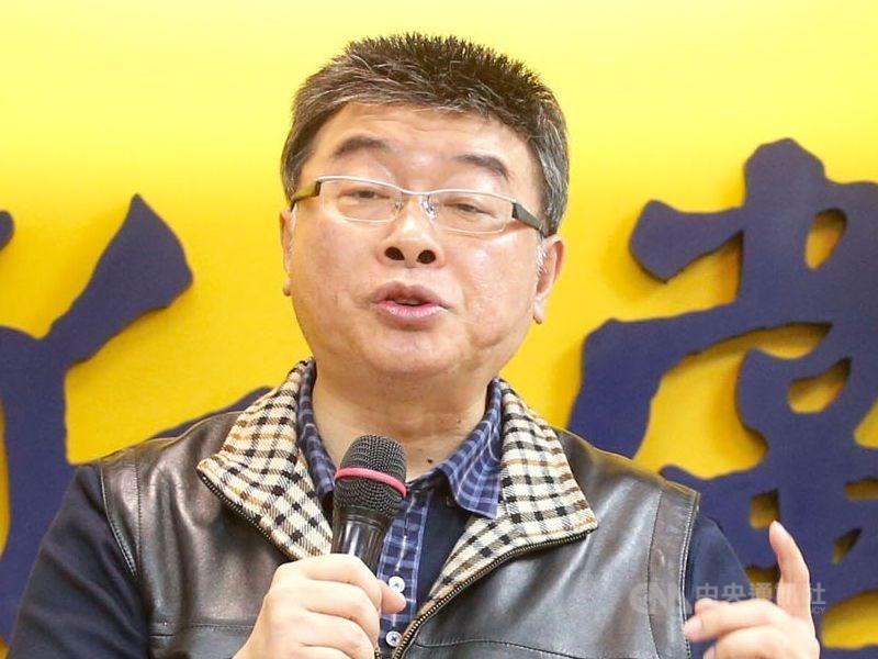 邱毅15日表示,他決定退出國民黨不分區立委名單。(中央社檔案照片)