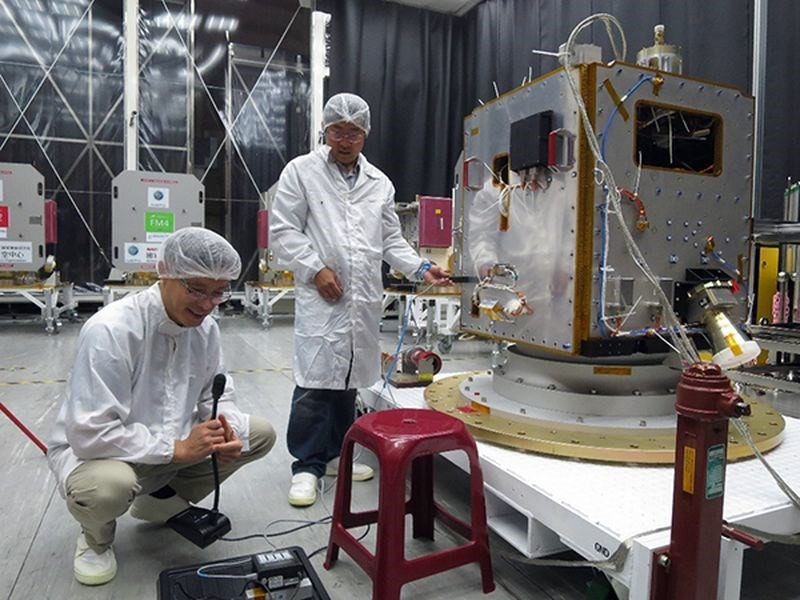 Taiwan's next satellite is to be launched from French Guiana.