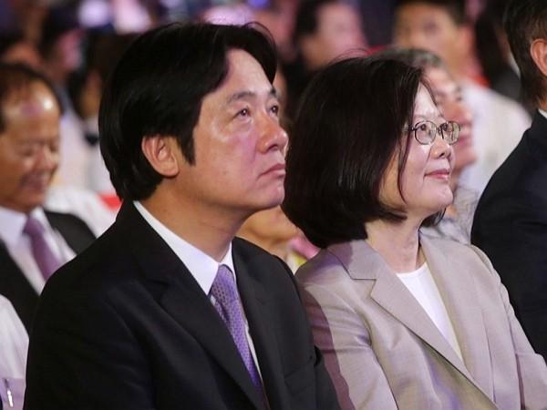 William Lai and Tsai Ing-wen. (Facebook photo)