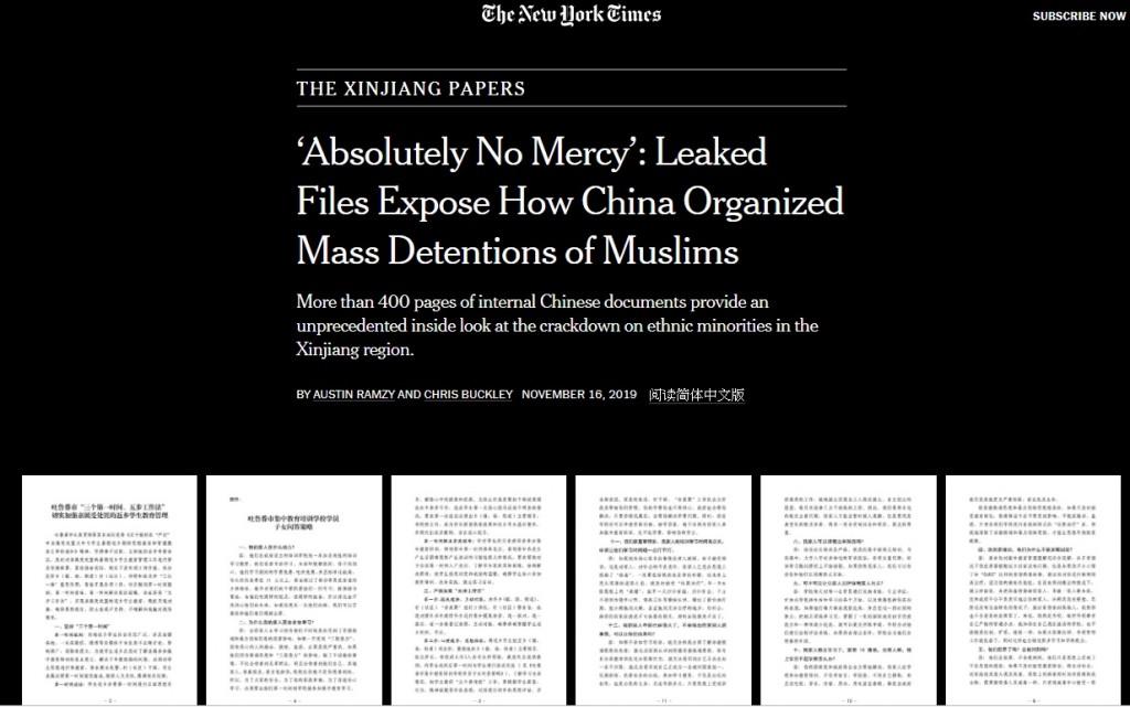 (翻攝自New York Times畫面)