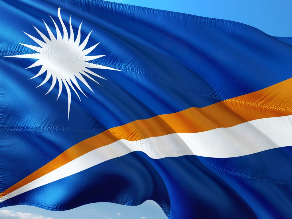 Marshall Islands flag (Pixabay image)