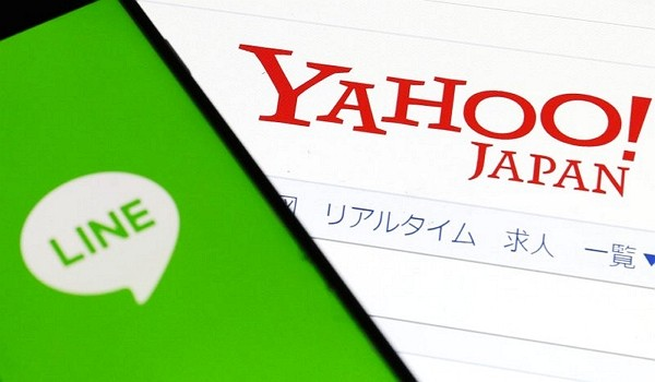 Yahoo Japan and Line Corp. have announced their merging. (AP photo)