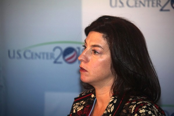 Beth Urbanas from U.S. Department of Energy. (Flickr/IISD RS photo)