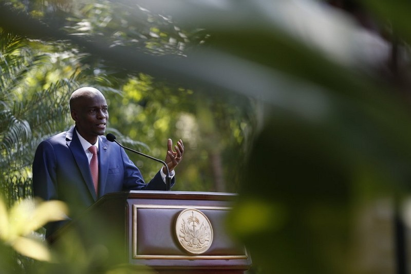 President Jovenel Moïse in Port-au-Prince