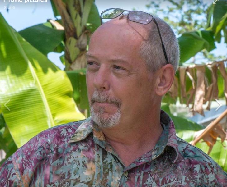 Dan McGarry, media director at Vanuatu's Daily Post (screenshot from Facebook).