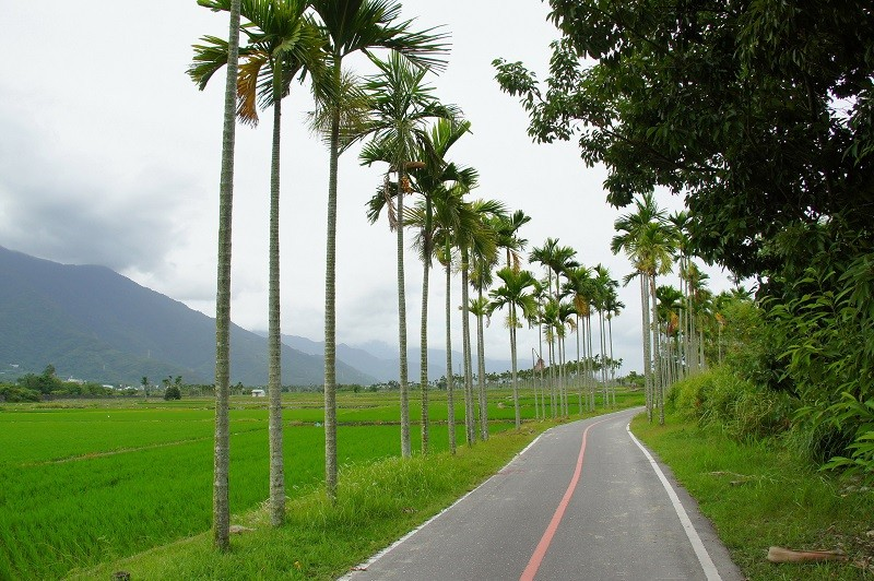 Guanshan Township Loop Bike Lane. (Taitung County Government photo)