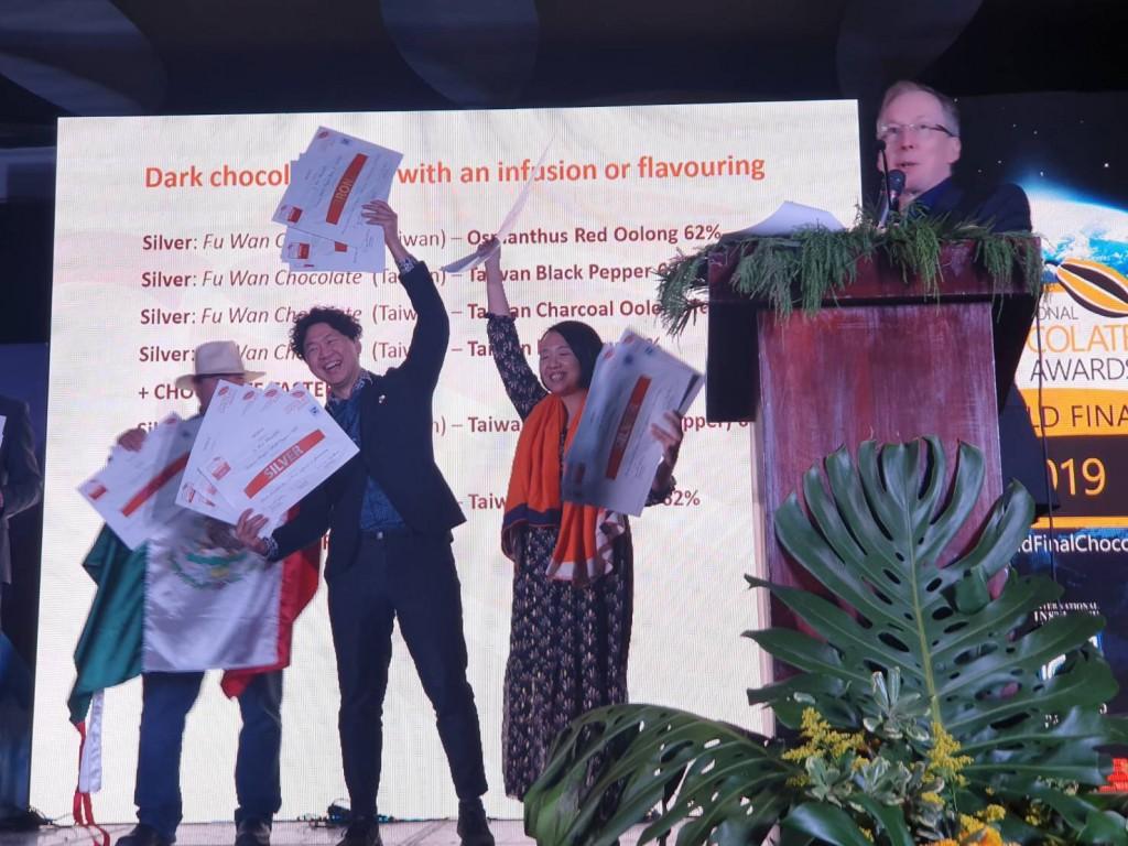 Taiwan's Fu Wan Chocolate wins big at ICA World Final.