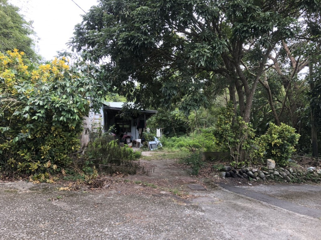 The Japanese man's dwelling in Fuli, Hualien County (photo by Yuli Police).