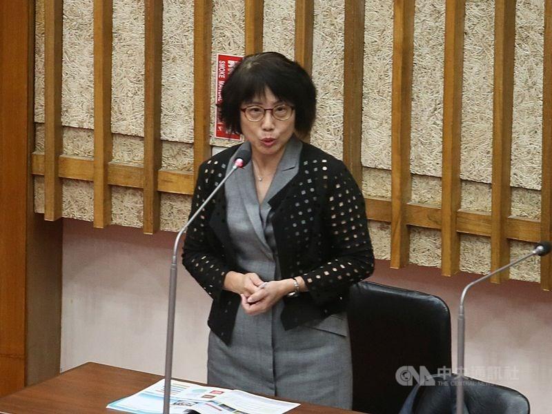 高雄市觀光局主任秘書高美蘭(圖)22日請辭。(中央社檔案照片)