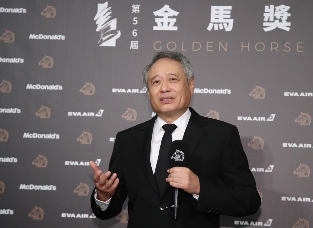 Taiwan film director Ang Lee