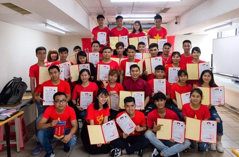 移工積極學習中文提升能力,也為臺灣企業、經濟注入活力。(照片來源:臺中市政府)