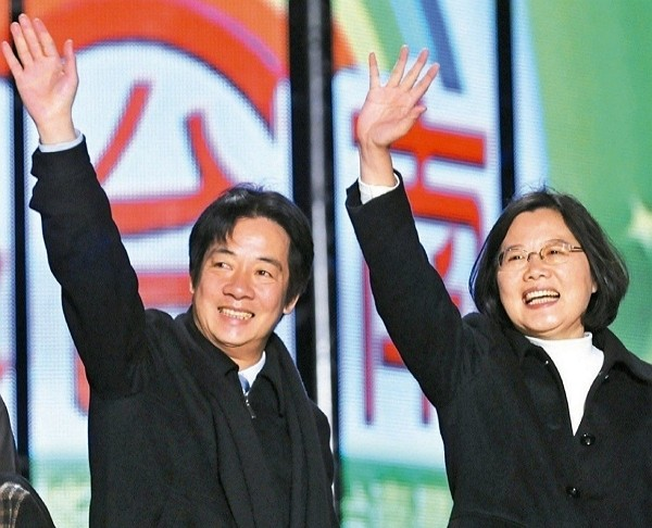 Tsai-Lai ticket leads in latest election poll. (Facebook photo)