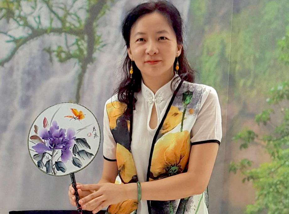 Artist Lin Li-yen (TECO photo)