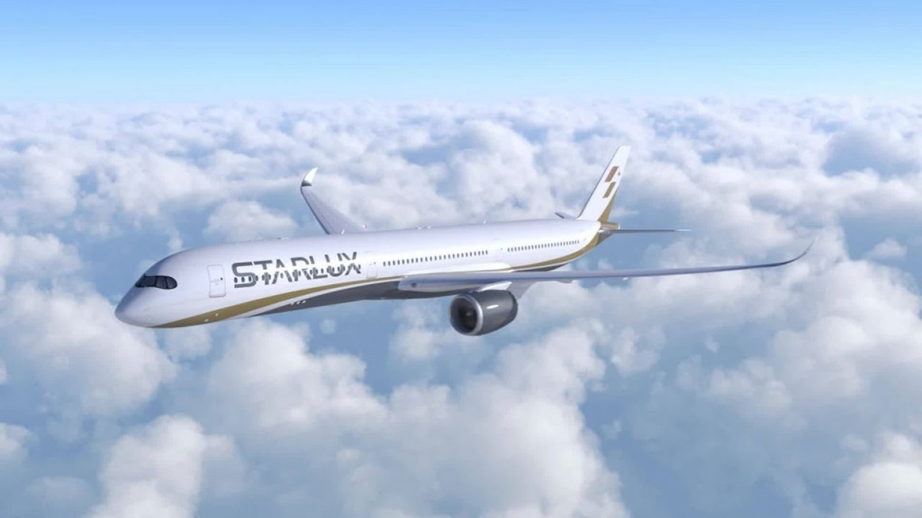 StarLux Airlines has moved one step forward (photo courtesy of StarLux Airlines).