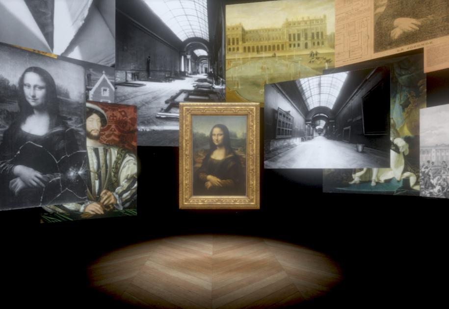 「蒙娜麗莎:越界視野VR」將於故宮展出(圖/羅浮宮提供)