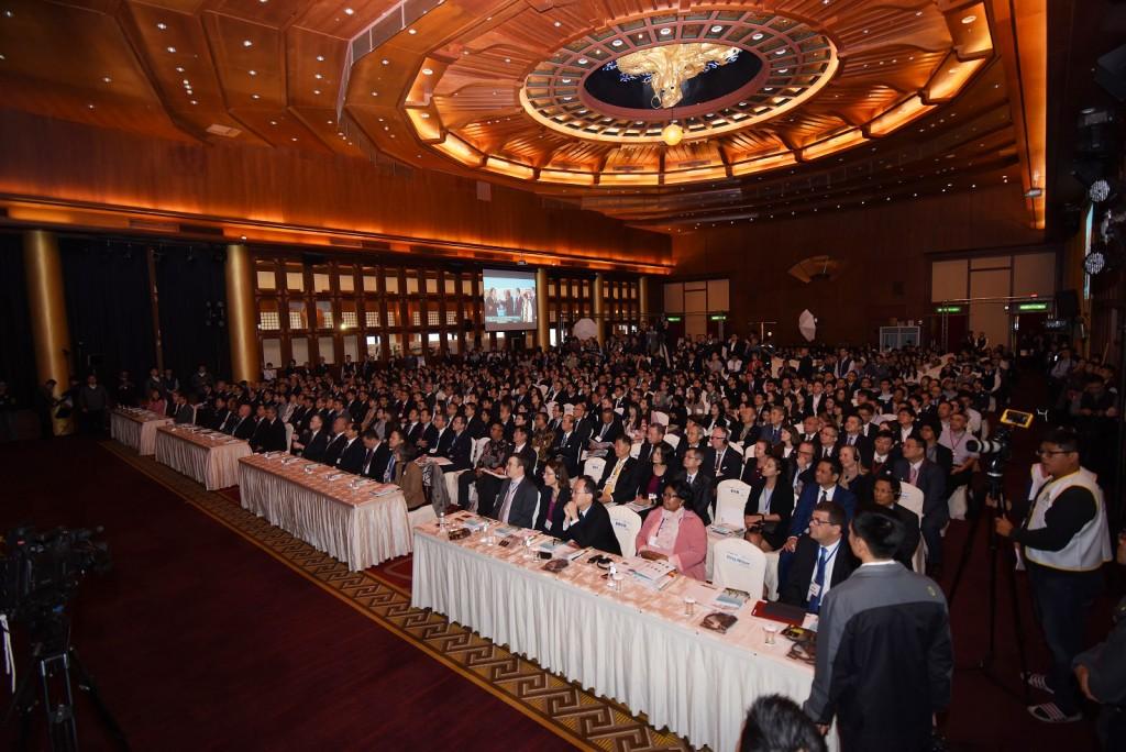 「2019 GCSF全球企業永續論壇」 暨 「2019 全球暨台灣企業永續獎頒獎典禮」。(圖/永續發展目標聯盟)