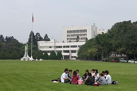 National Taiwan University Hospital campus. (NTHU photo)
