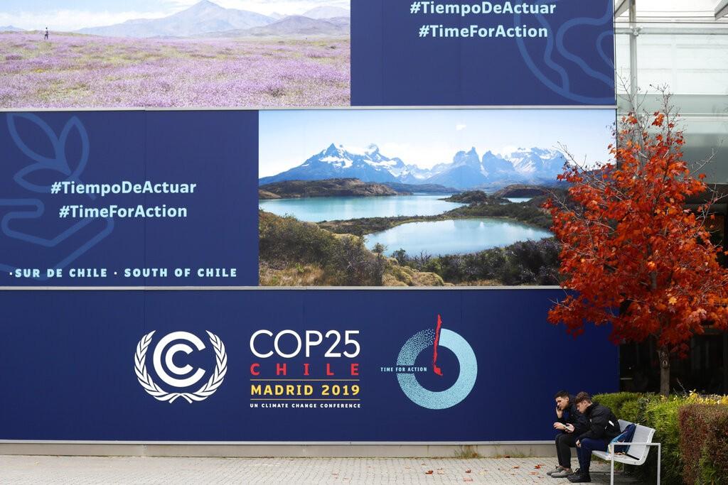 聯合國氣候峰會2日在西班牙馬德里登場(照片來源:美聯社提供)