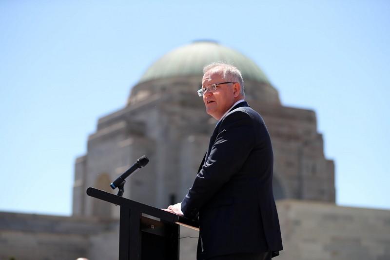 Australian Prime Minister Scott Morrison. (Facebook photo)