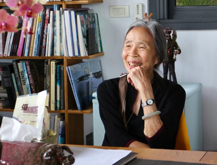 王秋華成為首位獲得國家文藝獎的女性建築師(圖/國家文藝獎)