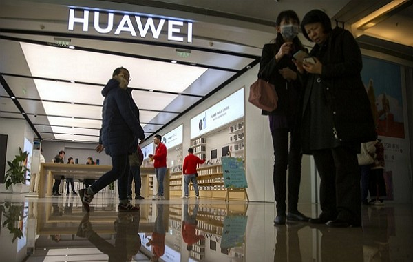 Huawei to move research center to Canada.