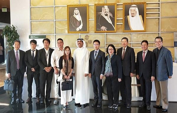 Taiwan delegation visits Saudi Arabia